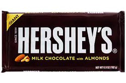 HERSHEY'S MILK CHOCOLATE 143G.