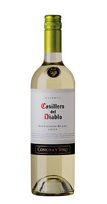 CASILLERO DEL DIABLO SAUV. BLANCO 750ML.