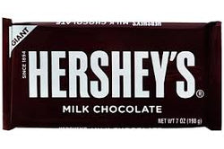 HERSHEY'S MILK CHOCOLATE 198G.