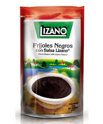 LIZANO BLACK BEANS REFRIED 227G.