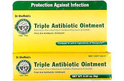 DR. SHEFFIELDS TRIPLE ANTIBIOTIC OINTMENT 9G