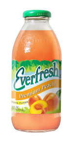 EVERFRESH PREMIUM PEACH 473ML.