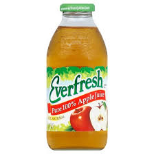 EVERFRESH PURE 100% APPLE JUICE 473