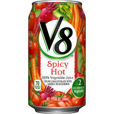 V8 SPICY HOT 340ML.