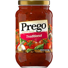 PREGO SAUCE TRADITIONAL 396G.