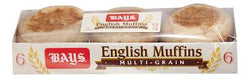 ENGLISH MUFFINS MULTI-GRAIN 340G.