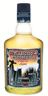 TEQUILA RANCHO ESWITHDIDO ORO 750ML.