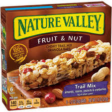 NATURE VALLEY FRUIT & NUT 210G.
