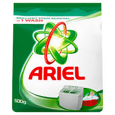 DETERG. POWDER ARIEL ORIGINAL 500G.