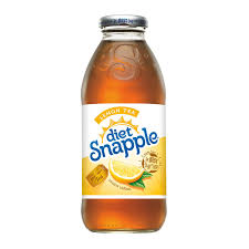 SNAPPLE LEMON TEA DIET 473ML.