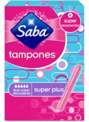 SABA TAMPONES SUPER PLUS 10U.