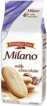 PEPPERRIDGE MILANO MILK CHOCOL. 170G.