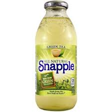 SNAPPLE GREEN TEA 473ML.