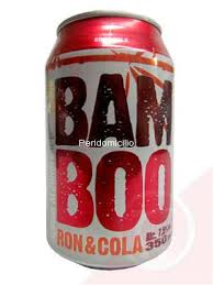MIXED DRINK BAM BOO RON & COLA 350ML.