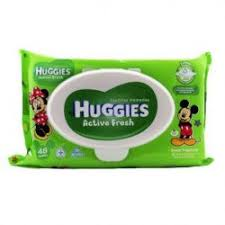 HUGGIES ACTIVE FRESH 48U.