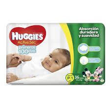 HUGGIES ACTIVE SEC P/1 14G.