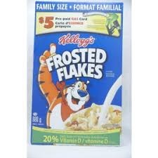 KELLOGG'S FROSTED FLAKES 490G.