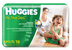 HUGGIES ACTIVE SEC XXG/5 38UNDS