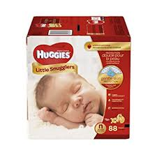 HUGGIES NEW BORN 48U.