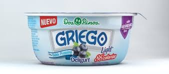 DOSPINOS GREEK YOGURT BLUEBERRY 150G.