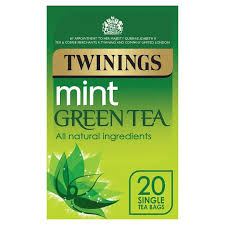 TE TWININGS GREEN TEA & MINT 50G.