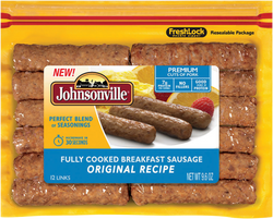 JOHNSONVILLE COOKED BREAKFAST SAUSAGE 272G.