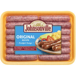 JOHNSONVILLE PORK BREAKFAST SAUSAGE 340G.