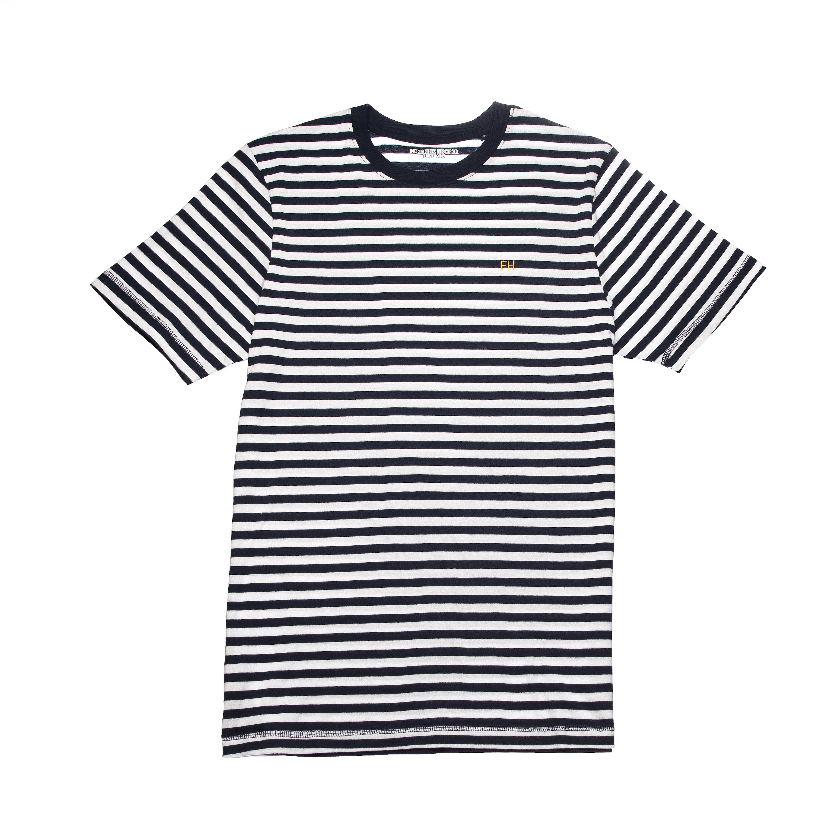 Blue & White Striped T-Shirt
