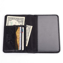 Genuine Leather w/ Anti-theft RFID protection