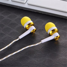 Noice Cancelling Stereo In-ear Earbuds  Earphone for Mobile Phones