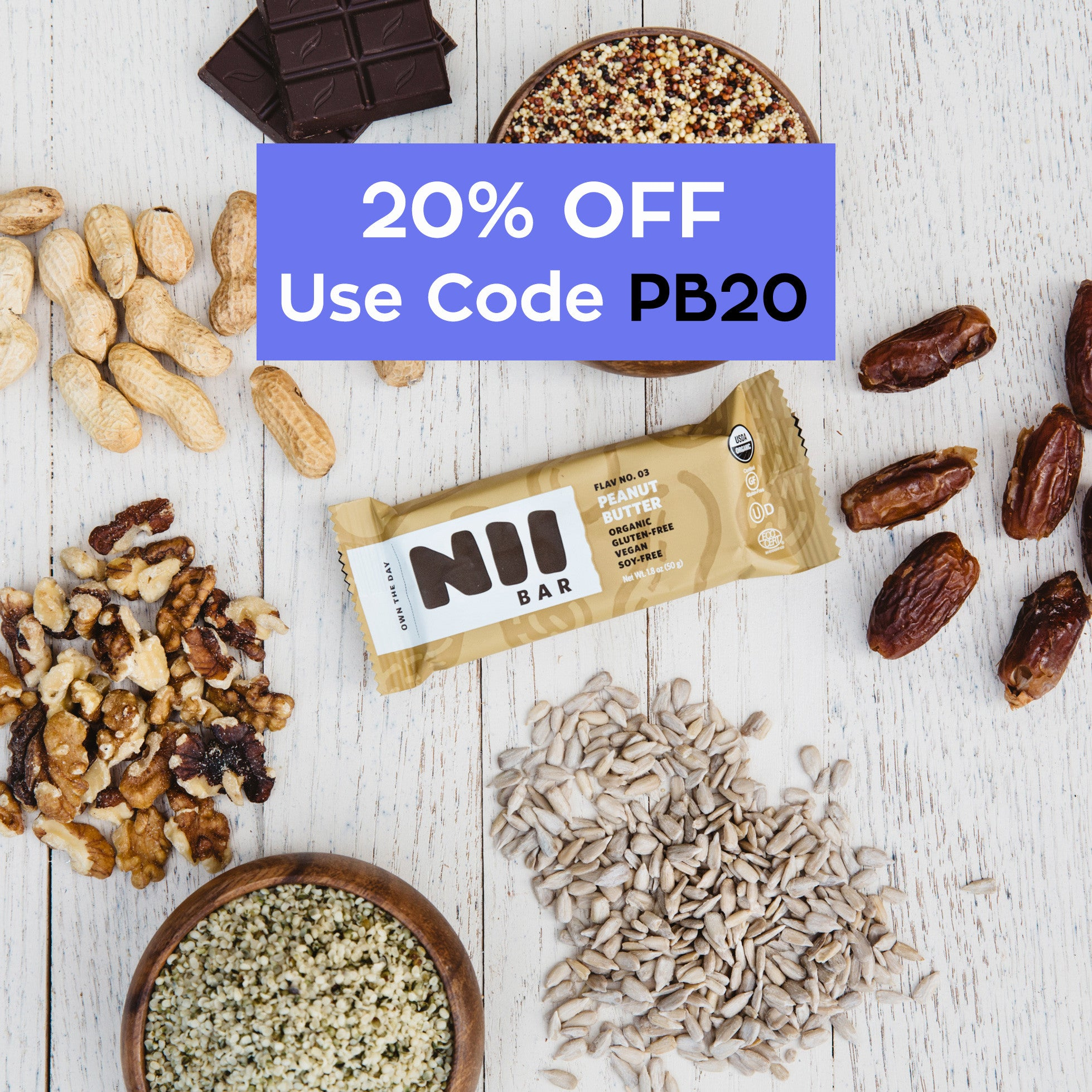 Peanut Butter (20% OFF) USE CODE PB20