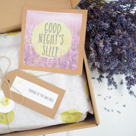 Natural Sleep Aid Gift Set - Self Care Package for Sleep