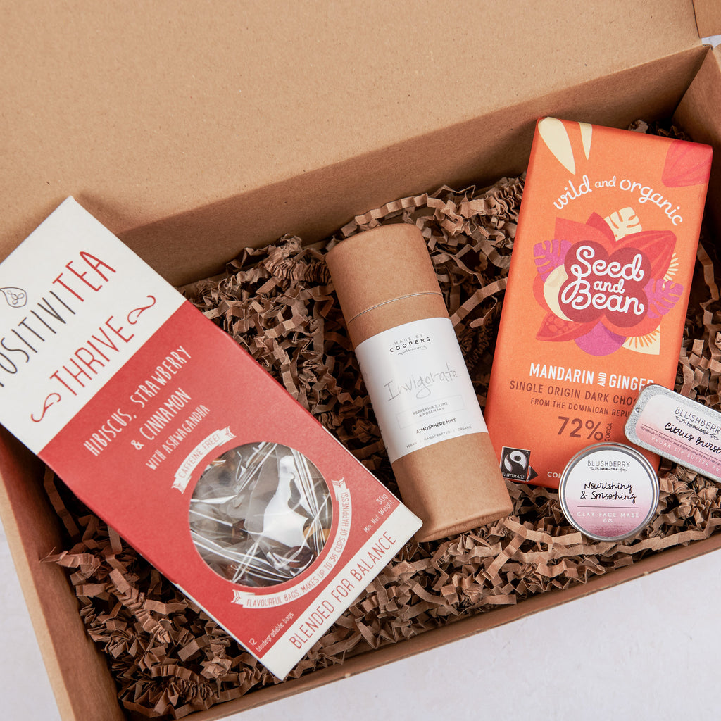 A gift box for a pick me up