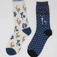 Eco Friendly Christmas Socks Gift Set