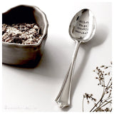 serving spoon, personalised spoons, birthday gift