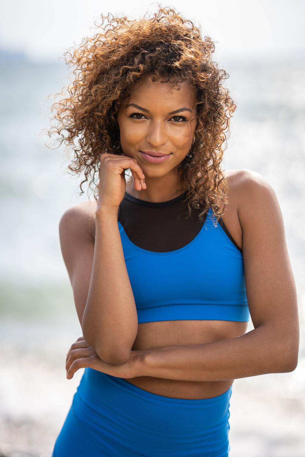 CAN. BLUEBERRY SPORTS BRA