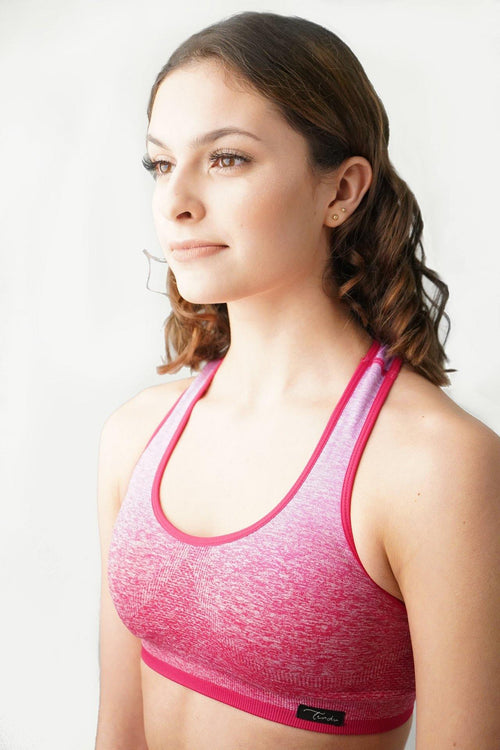 SANGRIA SEAMLESS SPORTS BRA