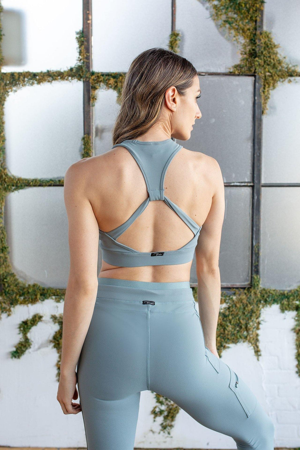 SAGE RACER BACK SPORTS BRA