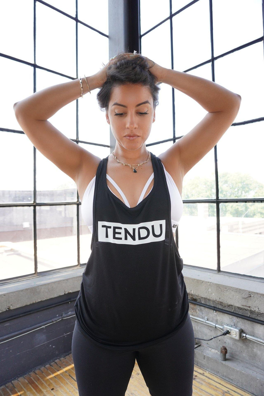 TENDU BOX LOGO TANK