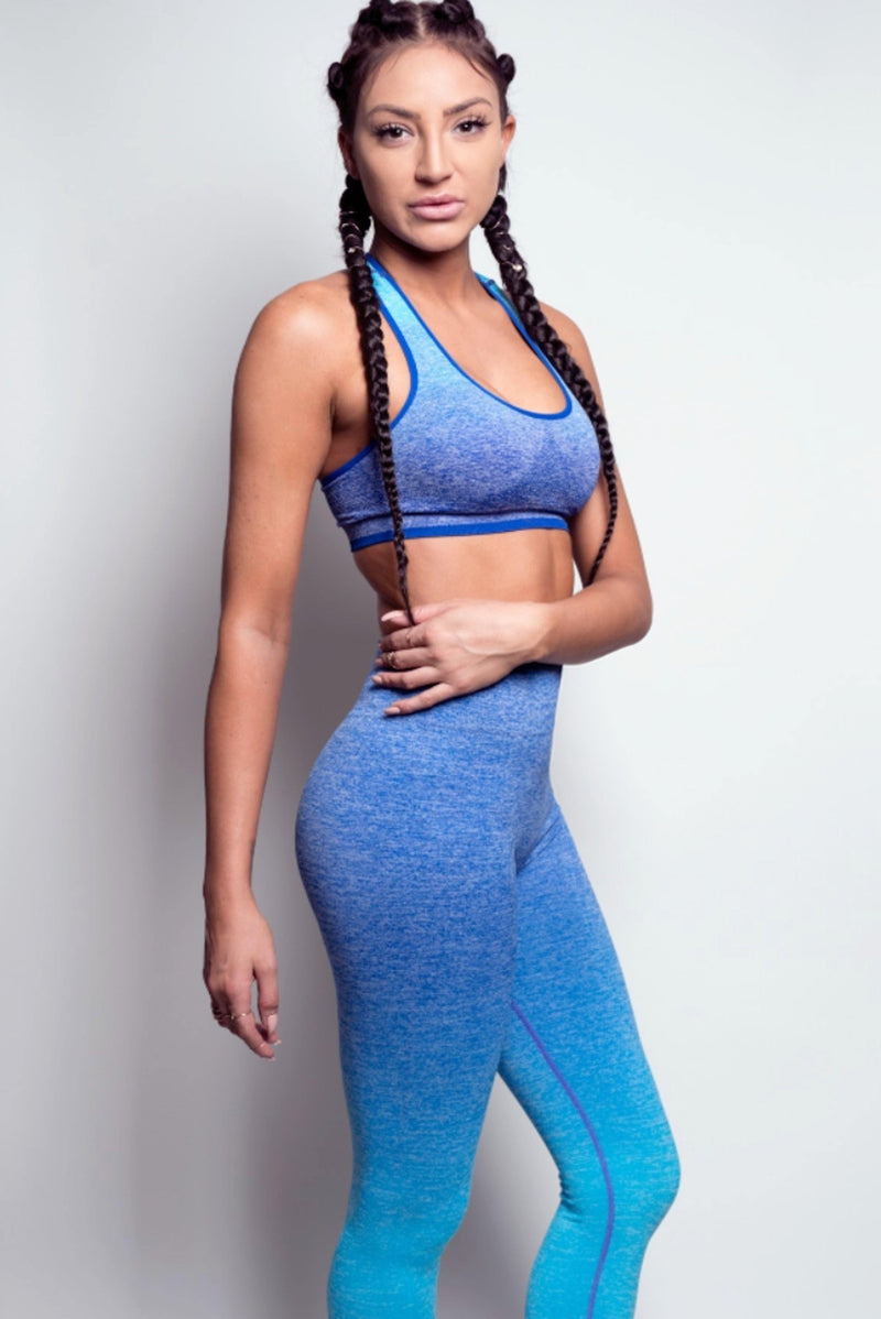 TAHITI SEAMLESS SPORTS BRA