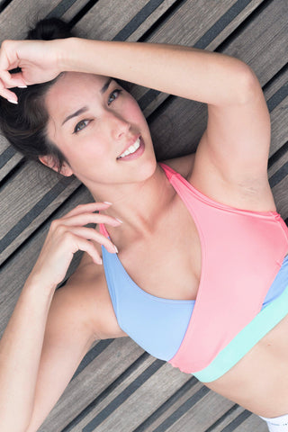 JAY BLUE - SPORTS BRA