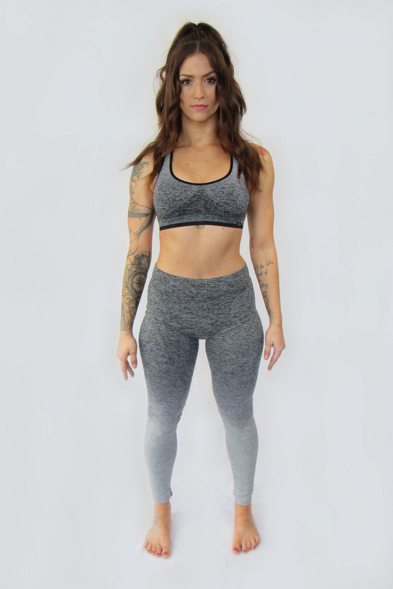 HALF MOON SEAMLESS SPORTS BRA