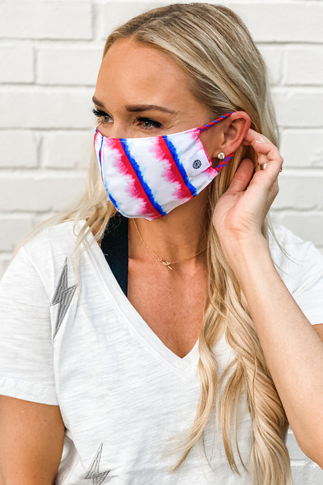 Liberty Tie Dye Simple Mask