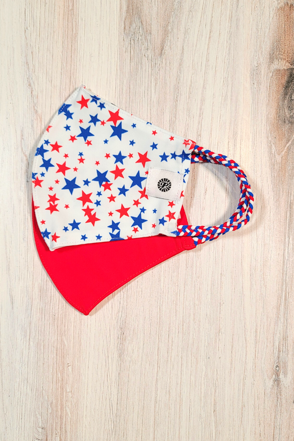 Liberty Stars Simple Masks- 2-Pack
