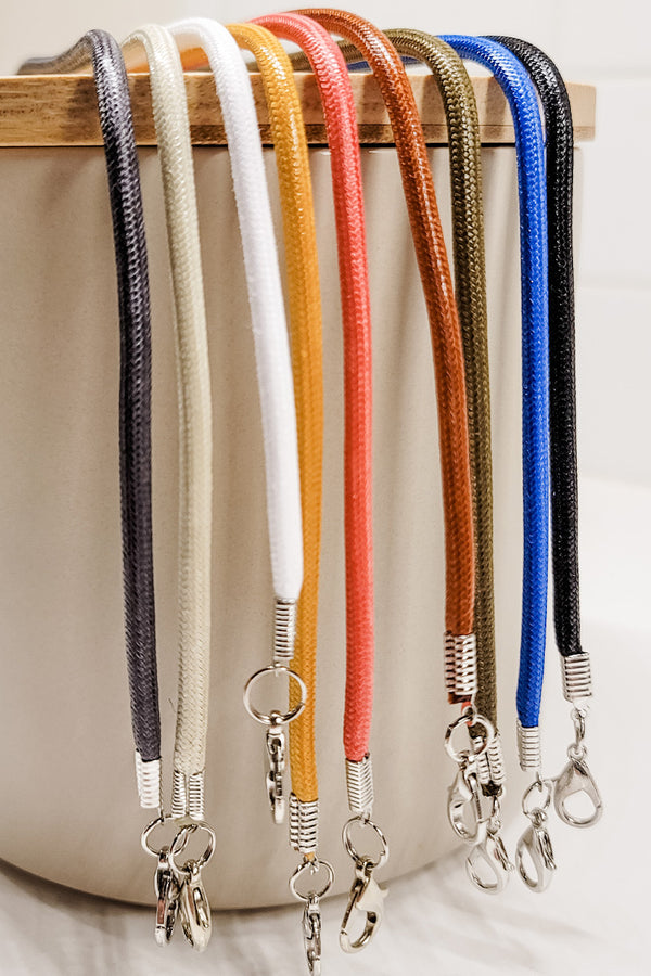 Classic Solid Color Lanyard