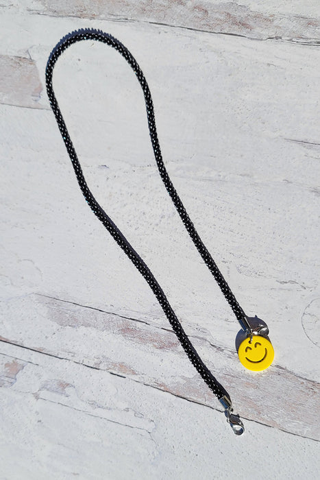 Emoji Stretch & Shine Kids Lanyard