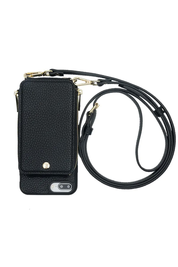 Crossbody Wallet & Case for iPhone 6+ / 7+ / 8+