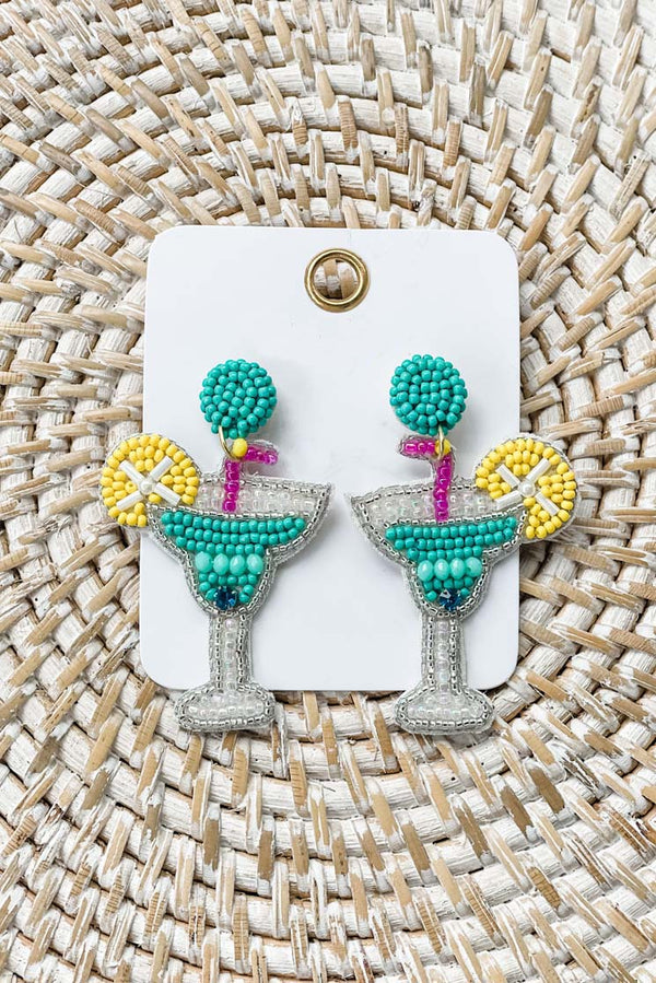 Crazy Cocktail Earrings
