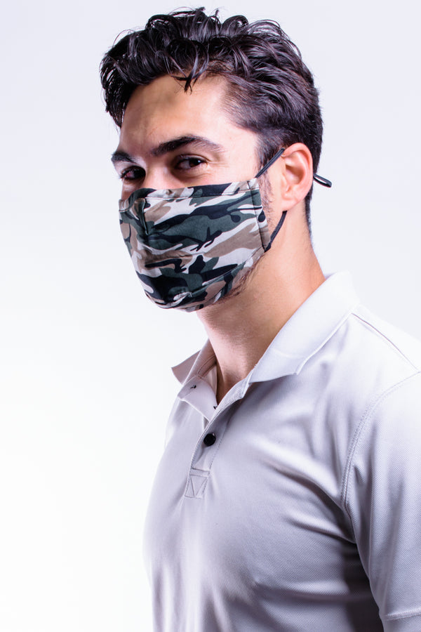 Camo Premium Mask - Includes 4 Filters