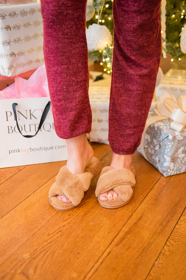 Twinkle Toes Fuzzy Slippers